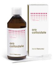 Oro Colloidale Vero 10 ppm 500 ml - Santé Naturels