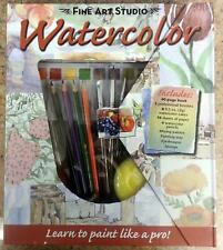 NEW BOOK Fine Art Studio Watercolour Painting Set- Mary Iverson