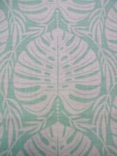 Tropical Paradise Philodendron Leaf Leaves Leafy Mint Blend Fabric Yard