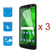 For Motorola Moto G6 5.7 inches LCD Screen Protector Cover Guard Film Foil x 3