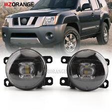 LED Fog Driving Light For Nissan Xterra 2005-2015 Smoked Len w/Bulb Factory PAIR