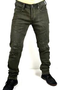 True Religion $279 Russell WestBrook Men's Darted Rocco Biker Jeans - MD087ZP4