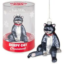 Derpy Cat Ornament Christmas Tree Accessory