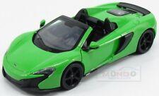 Mclaren 650S Spider 2015 Green Met MotorMax 1:24 MTM79326GR