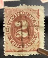 us stamps Scott J2 Lot J
