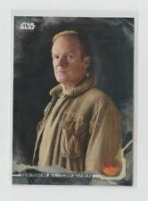 Star Wars Rogue One Trading Card Grey Parallel Character Card #10 Draven