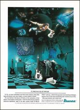 The Joe Satriani Ibanez JS Series Signature guitar ad 8 x 11 advertisement