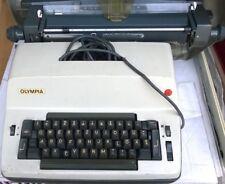 OLYMPIA SGE D52 - Elektrische Typenhebel Schreibmaschine Typewriter - Bj. 60er