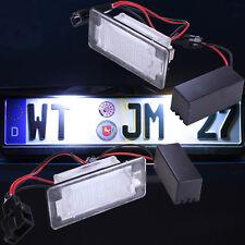 SMD LED Kennzeichenbeleuchtung  Audi A4 B8 A5 Q5 TT wasserdichte Version 7302