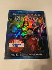The Avengers w/ Slipcover (Bluray/DVD, 2012) [BUY 2 GET 1]