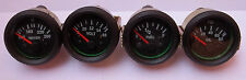 "Gauges Set ( 4 pc) - Oil Pressure + Temperature + Volt + Fuel Gauge 2"" Electric"