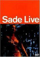 """SADE """"LIVE"""" DVD NEU"""