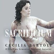 CECILIA BARTOLI-SACRIFICIUM(HARDBACK DELUXE)2CD+DVD NEU