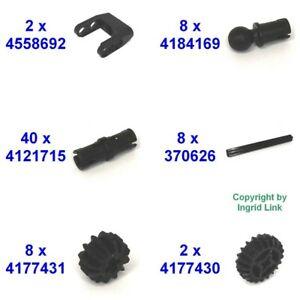 Lego Set 2x4558692 8x4184169 40x4121715 8x370626 8x4177431 2x4177430 68-T.*10406