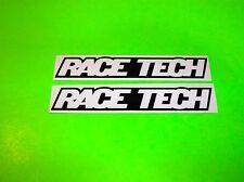 KX KXF YZ YZF RM RMZ CR CRF MX SXF 125 250 450 RACE TECH SUSPENSION STICKERS {+