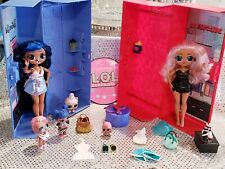 Lol Surprise OMG Doll Lot and CLOSET BOX SET WITH KEYS and Accessories!!!