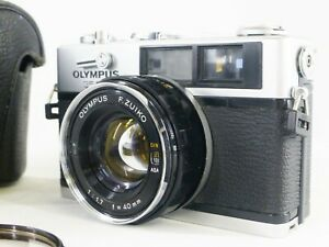 *N Mint/Works properly* Olympus 35DC Rangefinder Film Camera 40mm f/1.7 JAPAN
