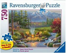 Ravensburger Riverside Kingdom 750 large piece puzzle - NEW - Fast shipping!