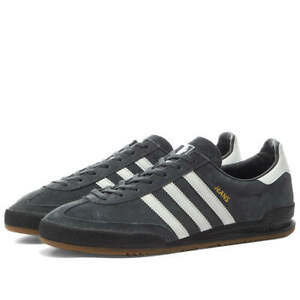 Adidas Jeans Charcoal, White & Gold