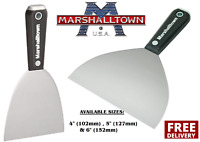 "Marshalltown Drywall Jointing/Taping Knife/Putty Spatula 4"", 5"" & 6"" CHOOSE"
