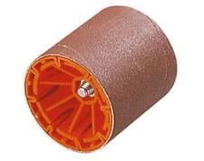 Schleifwalze schaft 8mm , Ø 75 x 80 mm,Schleifband  Korn 80