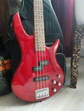 Ibanez GSR200, E-Bass, Soundgear, 4-Saiter, Rot, Tasche, Gurt, wie NEU