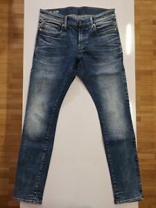 G-Star Raw Revend super slim Herren Denim Jeans in Blau Gr 33/32 bzw 32/32