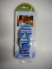 "New Boca Clips Blue Towel & Sarong Clip 3.5"" H x 1.25"" W"
