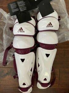 Adidas Performance PRO Series Catchers Baseball Leg Guard 15.5 DM3960