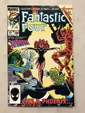 Fantastic Four #286 Marvel Comics 1986 2nd Appearance Phoenix X-Men