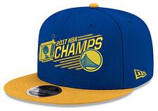 Golden State Warriors 2017 NBA Finals Champions Snapback Adjustable Hat Cap New