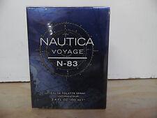 NAUTICA VOYAGE N - 83 NAUTICA  COLOGNE 3.4 OZ / 100 ML EDT SPRAY FOR MEN SEALED