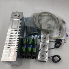 3Axis Nema17 Stepper Motor Driver Kit+5Aixs Breakout Board Mill Laser Router Kit