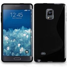 Pour Samsung Galaxy Note Edge SM-N915FY - Coque Gel Silicone S-Line Noir