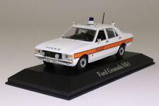 Rare 1/43 Ford Granada MKI Avon and Somerset Police Atlas Lusanne Switzerland