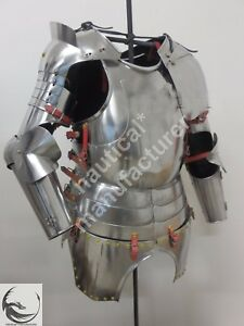 Fully Wearable Beautiful Gothic Half Suit of Armor knight Medieval Half Suit