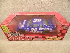New 1997 Racing Champions 1:24 Nascar Elton Sawyer Barbasol Ford Thunderbird #38