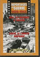 DVD REPORTAGE DE GUERRE 1939-1945 N° 31--MARINES A TARAWA/DUKW CAMION AMPHIBIE