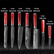 Japanese Damascus Kithcen Knife Set 67-Layer VG10 Steel Core Amazing Quality