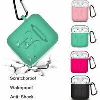 AirPods Soft Silicone Case Cover Protective Skin for Apple AirPod Charging Case