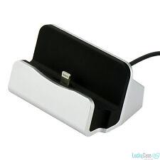 Dockingstation Ladestation für Apple iPhone, iPad Mini, iPod Lightning Anschluss