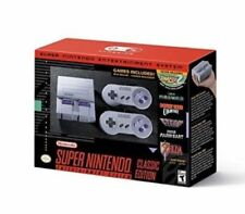 New Super Nintendo Entertainment System Classic  Console
