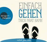 HERBERT SCHÄFER - EINFACH GEHEN  - THICH NHAT HANH, URSULA RICHARD -  CD NEW