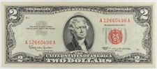 1963 United States Two Dollar Note Red Seal CRISP