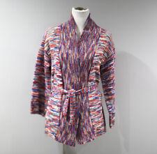 Vintage Jantzen Cardigan Sweater Womens Medium Space Dye Wide Sleeve