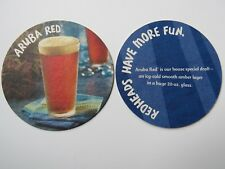 Beer Collectible Coaster: BAHAMA BREEZE Restaurants Aruba Red House Special Brew