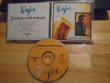 RARE PROMO Najee CD single I Adore Mi Amor jazz Color Mee Badd cover prince NPG