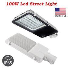 100W LED Road Street Light Industrial Lamp Garden Floodlight 6000K IP65