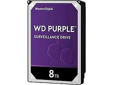"Western Digital WD81PURZ  Purple 8TB 5400 RPM 3.5"" Internal Hard Drive"