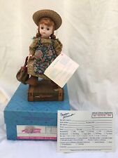 "1994 Madame Alexander ANNE AT THE STATION 8"" Doll w/Red Hair & Freckles in Box"